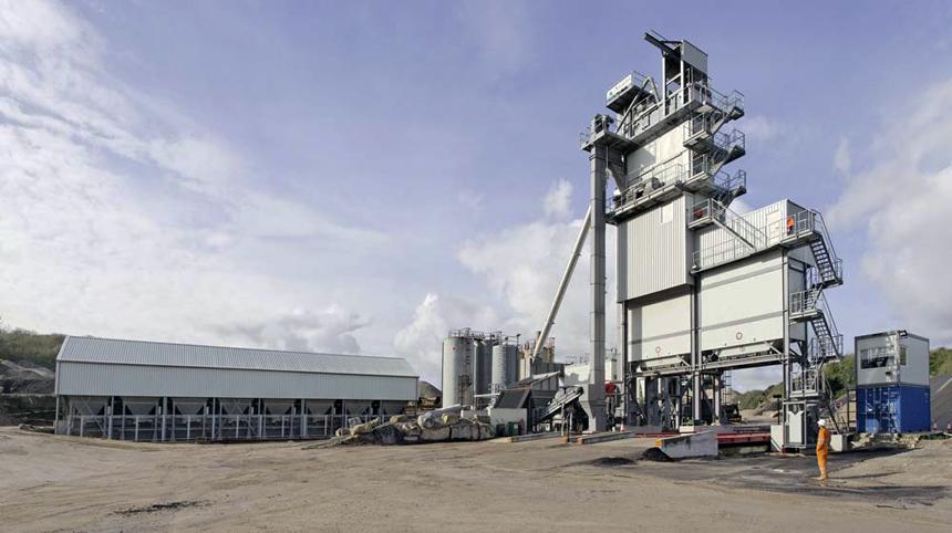 asphalt batching plant for sale