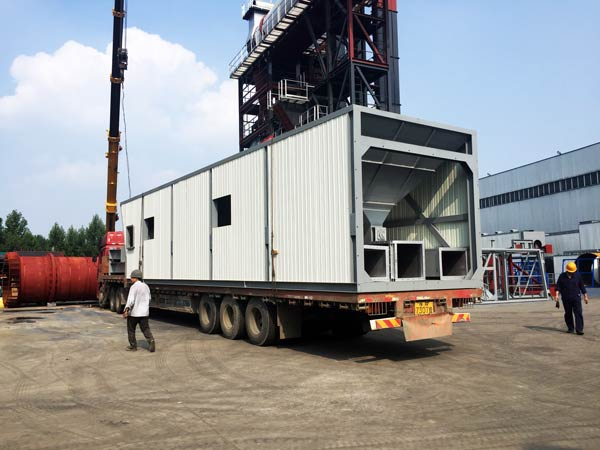exporting asphalt plant