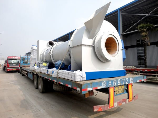 dryer drum of asphalt plant