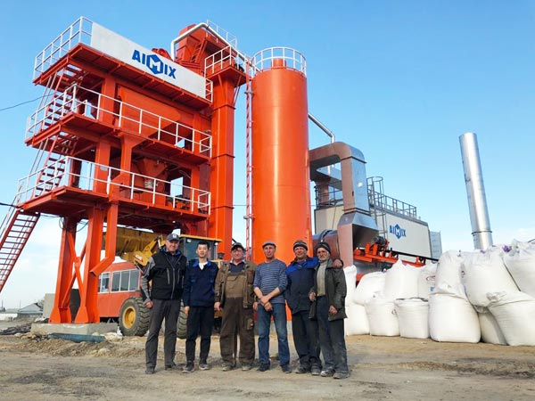 batch type asphalt plant