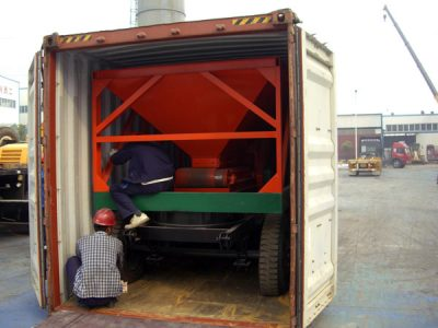 deliverying asphalt plant to New Zealand