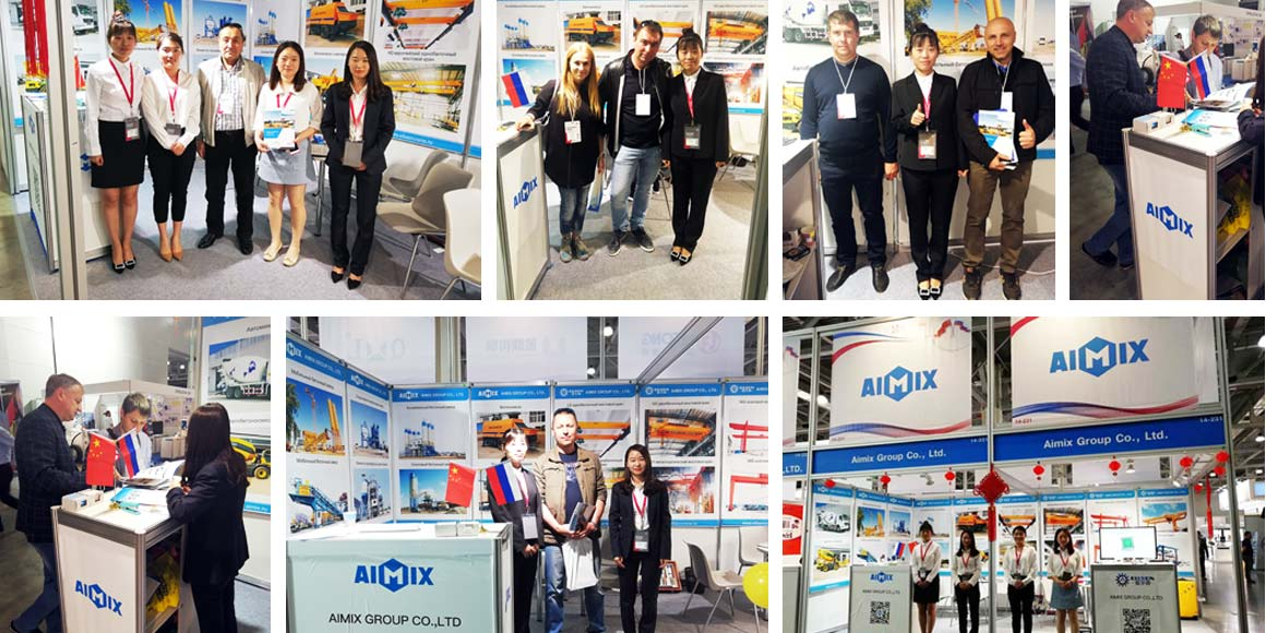 Aimix In Russia Exhibition