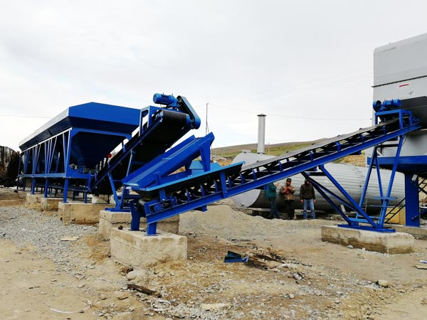Cold aggregate supplying system