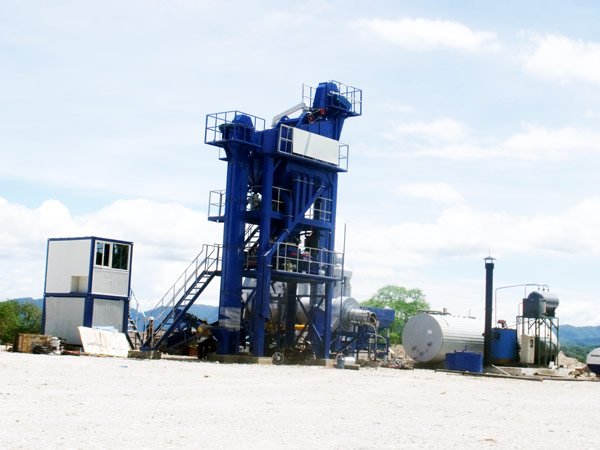 LB500 stationary asphalt plant