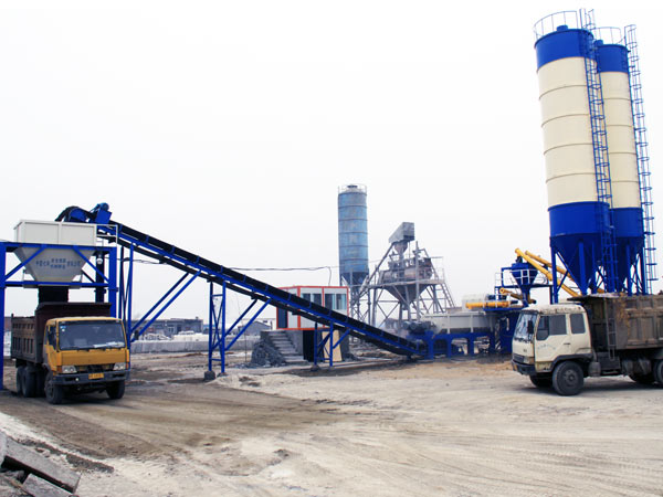 WCB series Stabilized Soil Mixing Plant