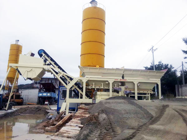 YWCB series Stabilized Soil Mix Plant