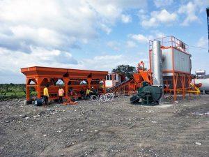 YLB series asphalt plant