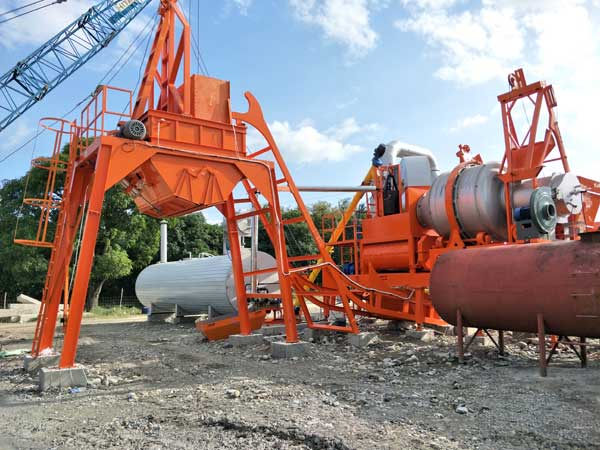 AIMIX Asphalt Plant in the Philippines
