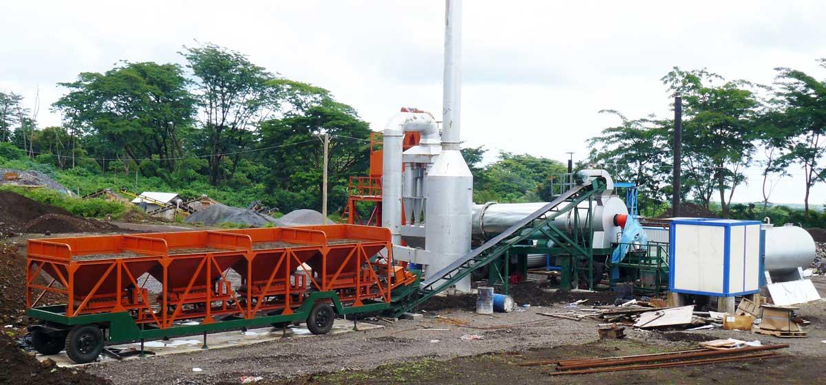 Mini Mobile Asphalt Plant