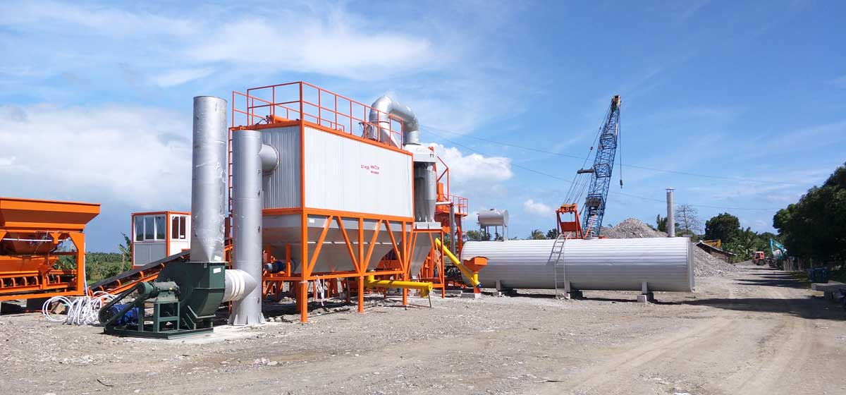 Asphalt Plant in The Philippines