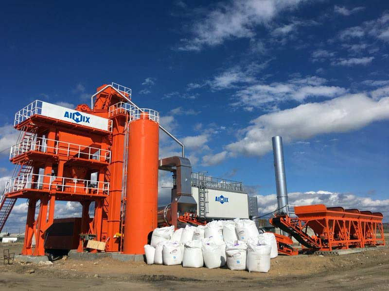 ALQ80 asphalt batch mix plant