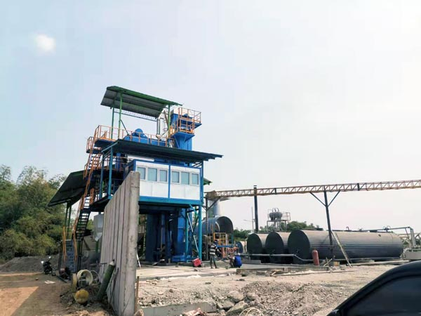 Asphalt Mixing Plant in Indonesia