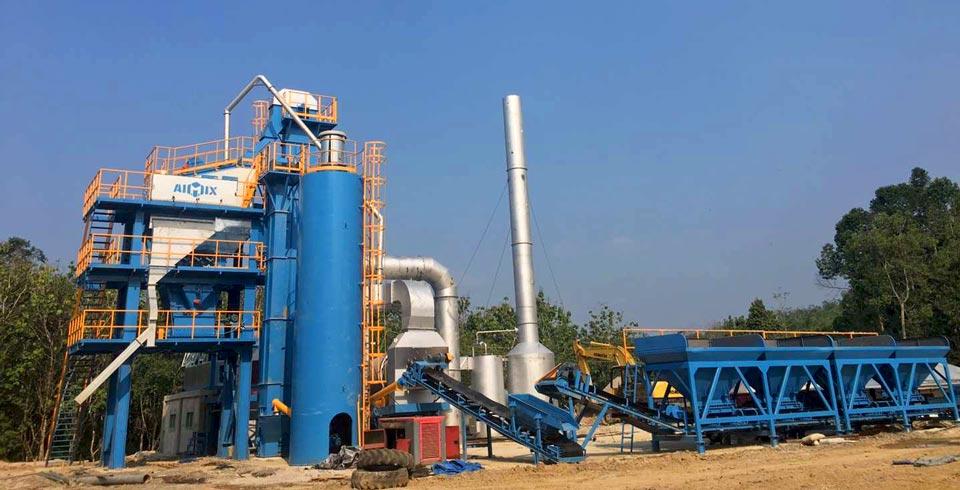 Asphalt Mixing Plant Indonesia