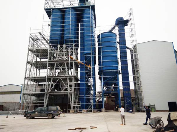 Dry Mortar Plant Machine