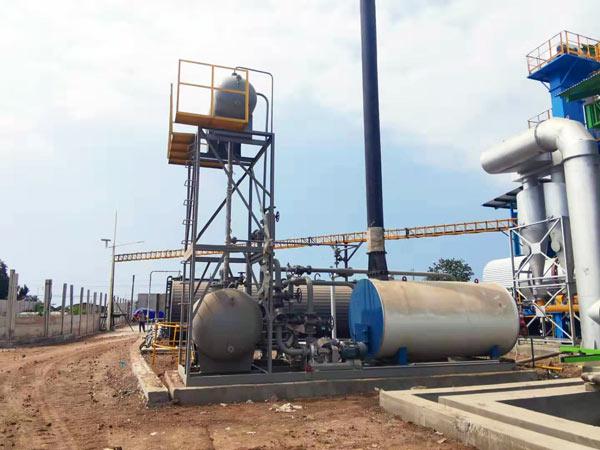 Installing Aimix Asphalt Plant in Indonesia