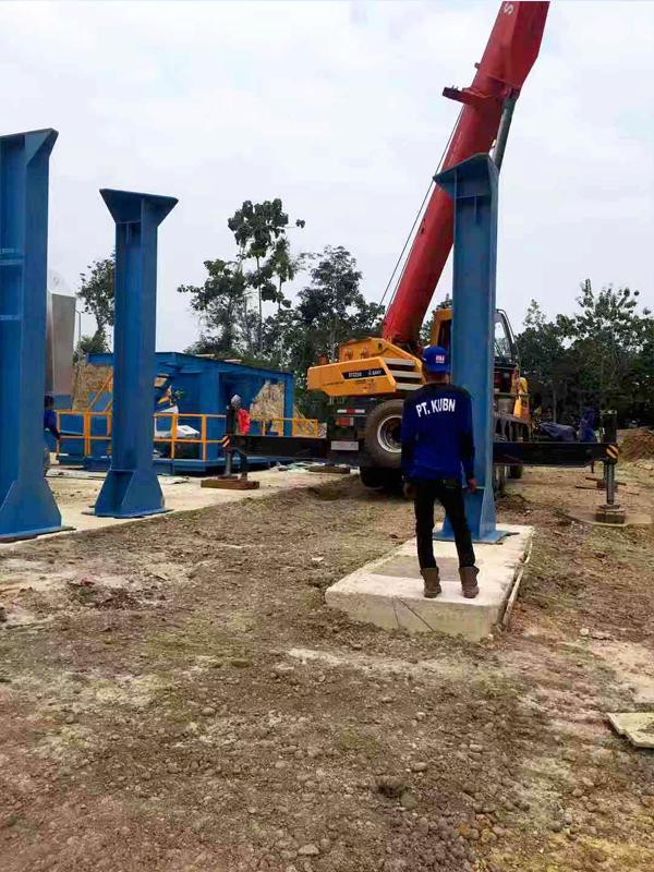Asphalt Plant Installation in Indonesia