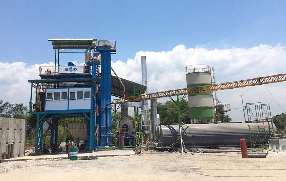 ALQ100 Asphalt Plant Indonesia