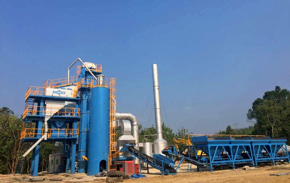 ALQ80 Asphalt Plant Indonesia