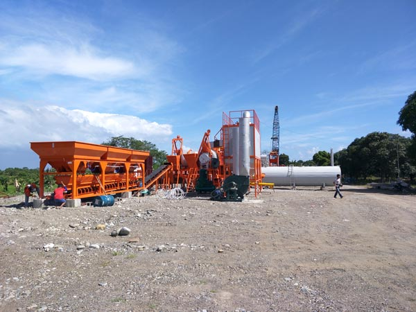 ALYJ Series Simple Batch Type Asphalt Plant