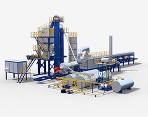ALYQ Series Mobile Asphalt Plant
