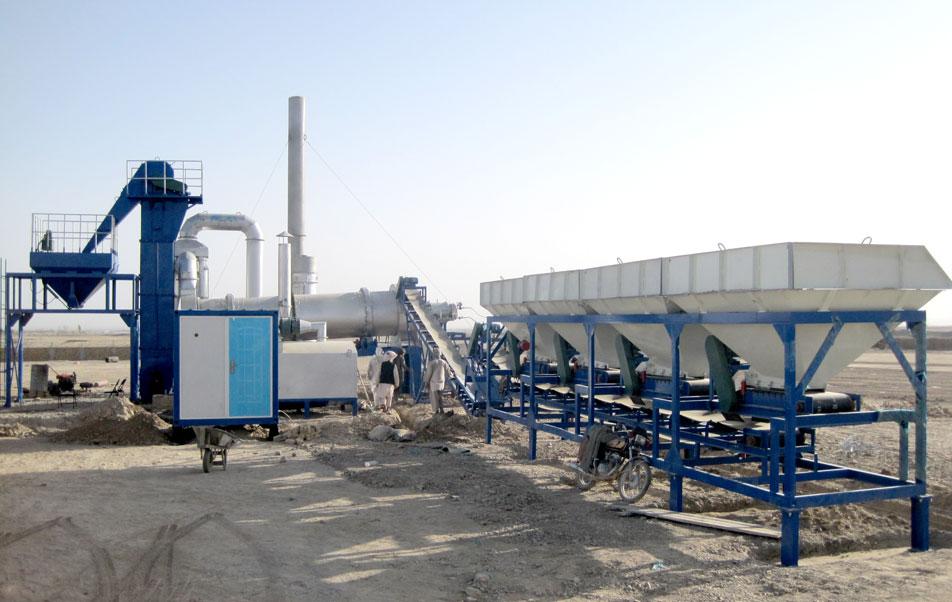 Afghanistan asphalt plant