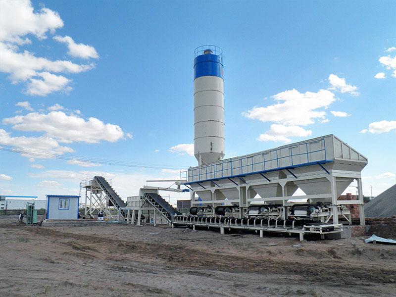 AIMIX Stabilized Soil Mixing Plant in Kazakhstan
