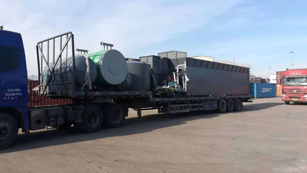 Asphalt Mix Plant Transportation