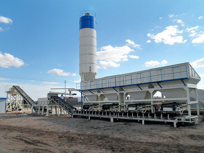 Installing Stabilized Soil Mix Plant in Kazakhstan
