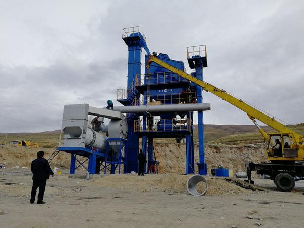 Debugging Asphalt Plant in Kyrgyzstan