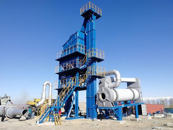 Kyrgyzstan ALQ60 Asphalt Plant