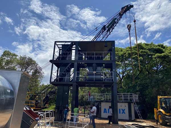 Asphalt Plant Installation in Sri Lanka